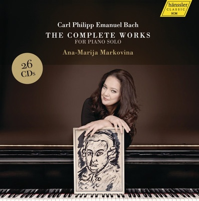 The Complete Works For Piano Solo (Ana-Marija Markovina, 26CD)