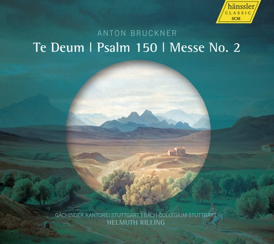 Te Deum, Psalm 150, Messe No. 2