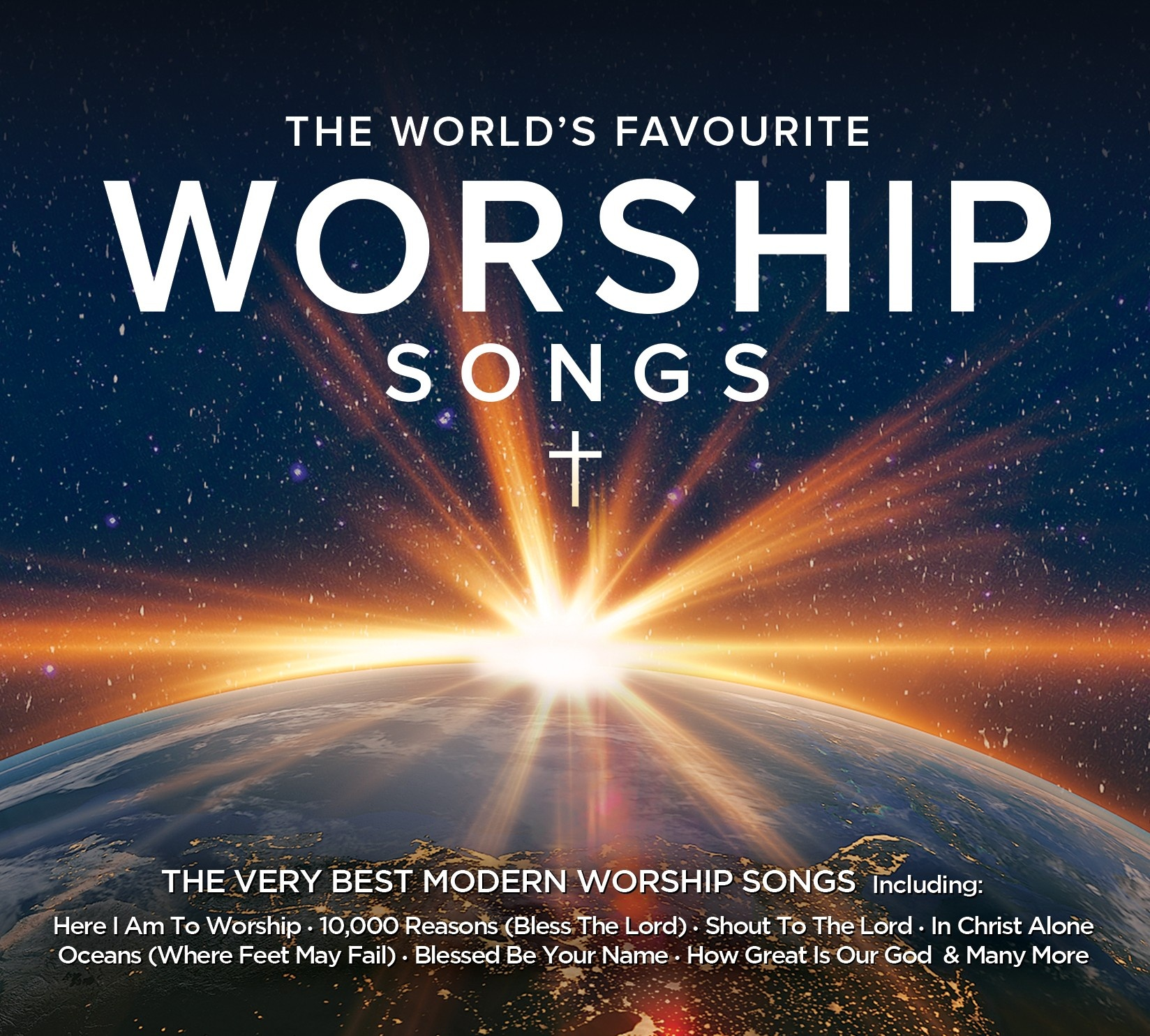 The Worlďs Favourite Worship Songs (3CD)