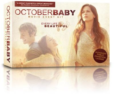 October Baby (s licencí na promítání do 100 lidí)