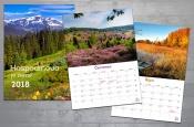 Nástěnný kalendář 2018 (velký - kouzelná příroda)
