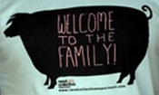 Tričko - Welcome To The Family (modré, vel. M)