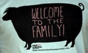 Tričko - Welcome To The Family (modré, vel. XL)